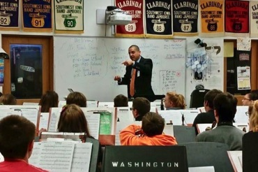 Clinic at Washington Middle School in Red Oak, IA