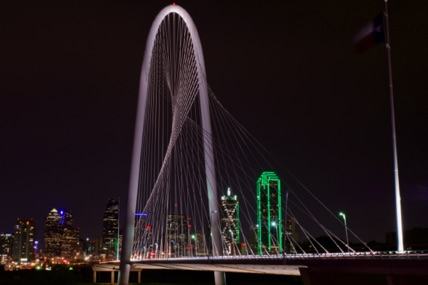 Margaret Hunt Hill Bridge Dallas, Texas